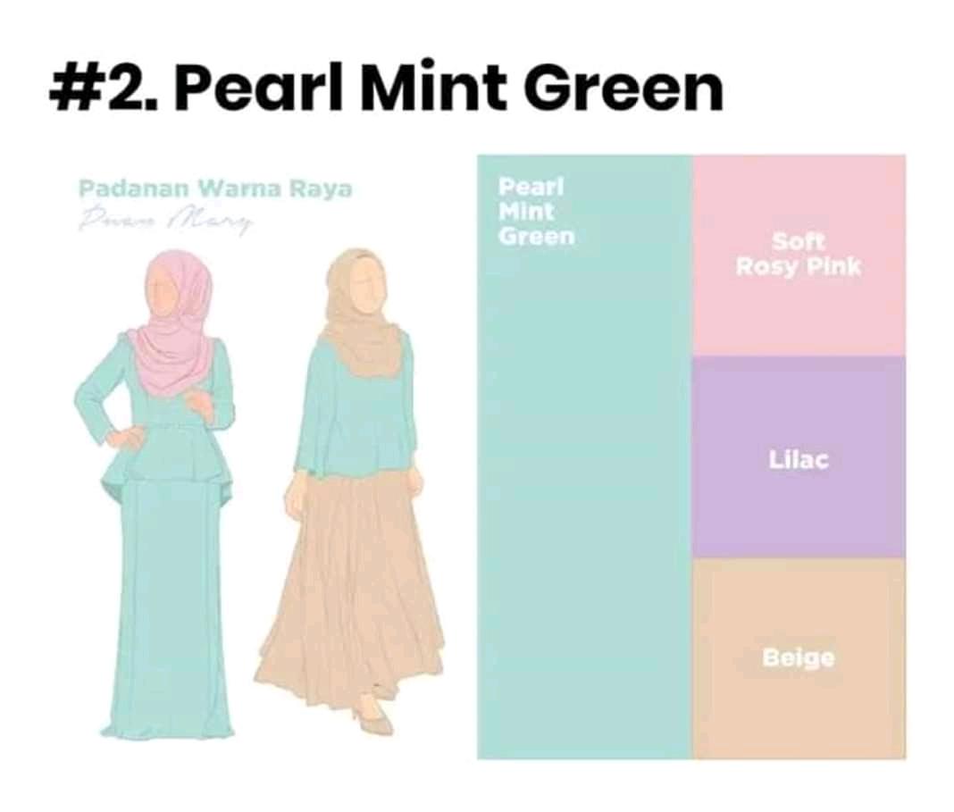 10 Tips padu padan warna baju dan hijab agar enak dipandang