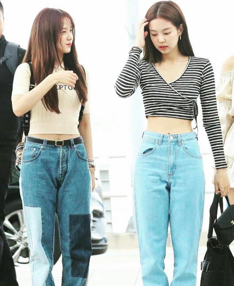 Inilah airport style 4 anggota Blackpink saat di Bandara Incheon