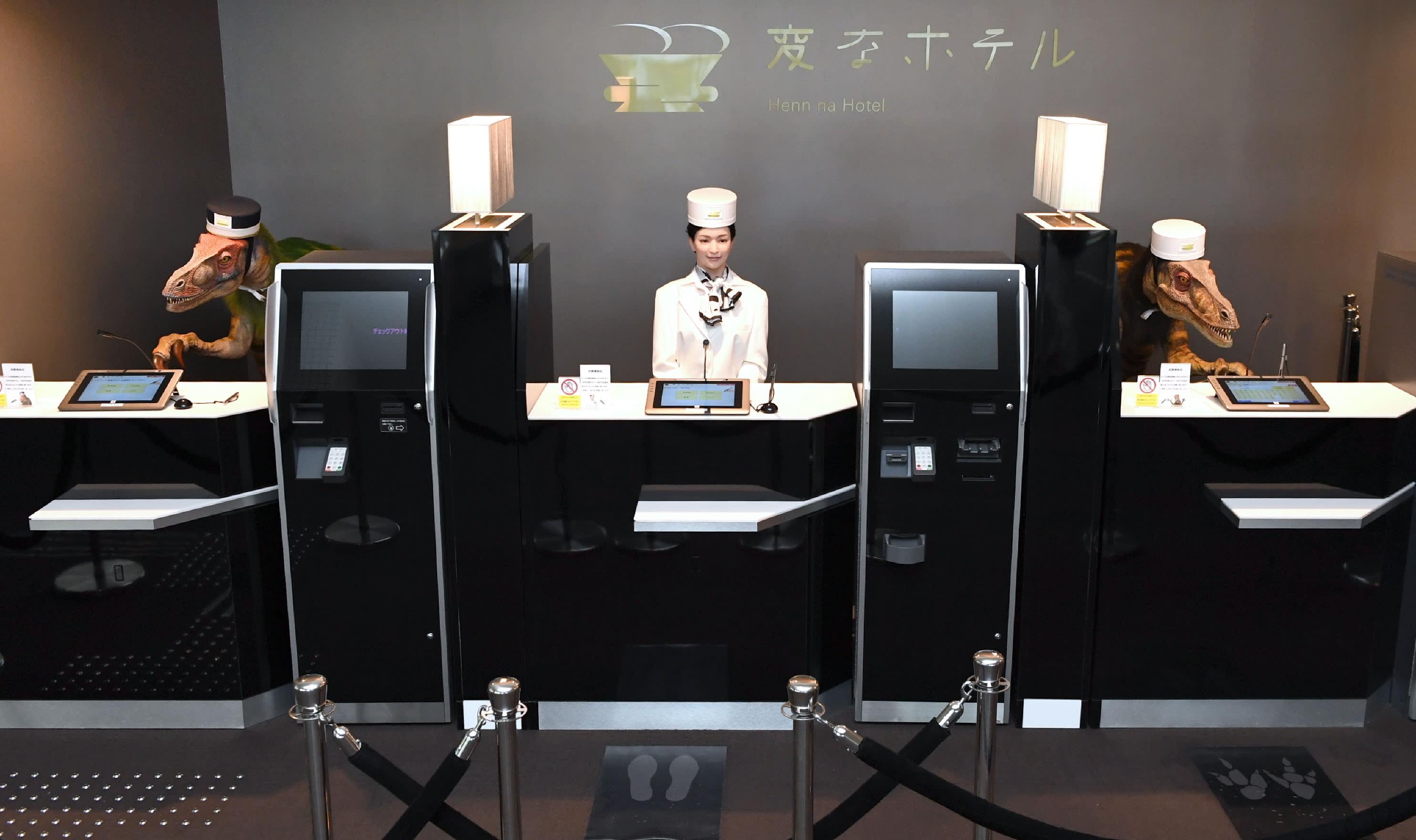 Staff robot di Tokyo
