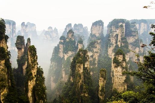 Taman Hutan Nasional Zhangjiajie