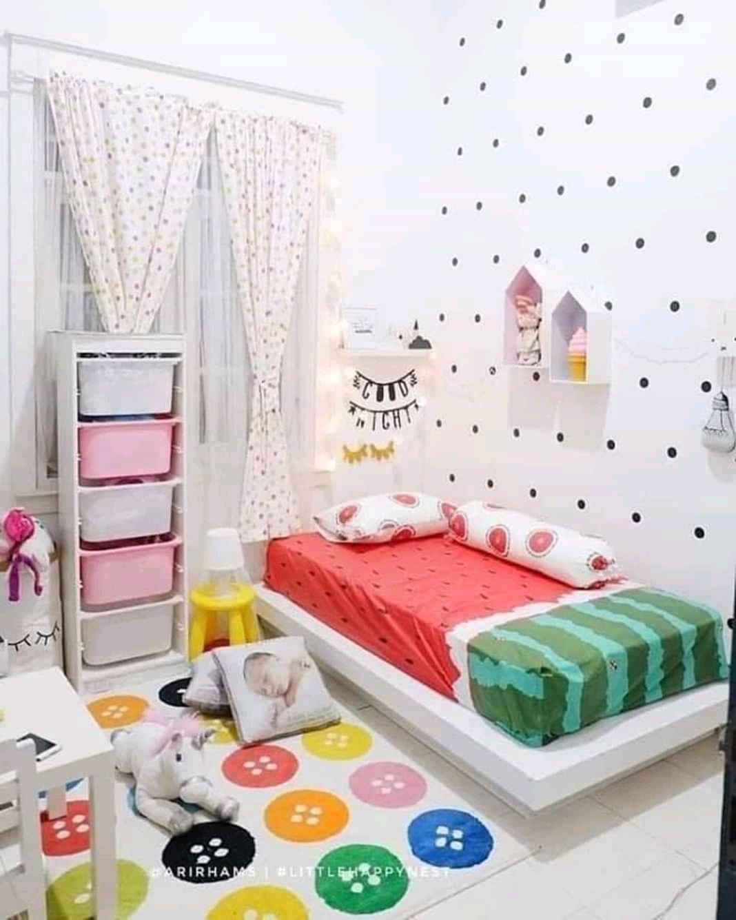 10 Ide Dekorasi Kamar Tidur Anak Tipe Lesehan Punya Banyak Keunt