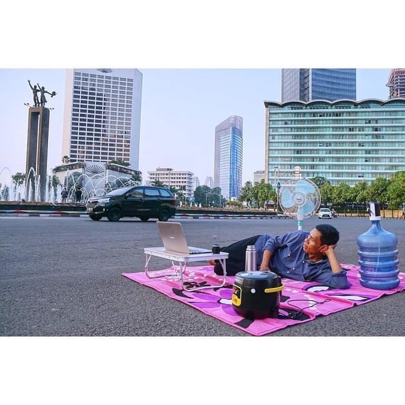 16 Potret seru 'Jakarta Sepi' ini kreatifnya kebangetan