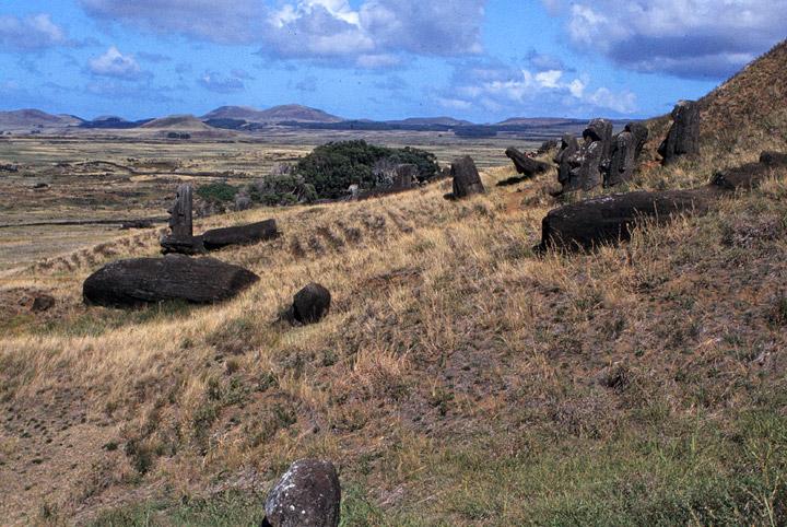 Moai Rusak