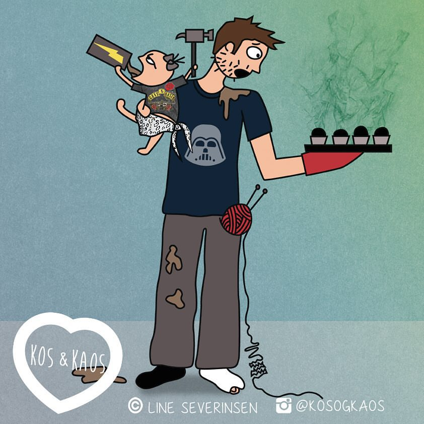 8 Ilustrasi jadi ayah baru, so sweet dan bikin gemas!