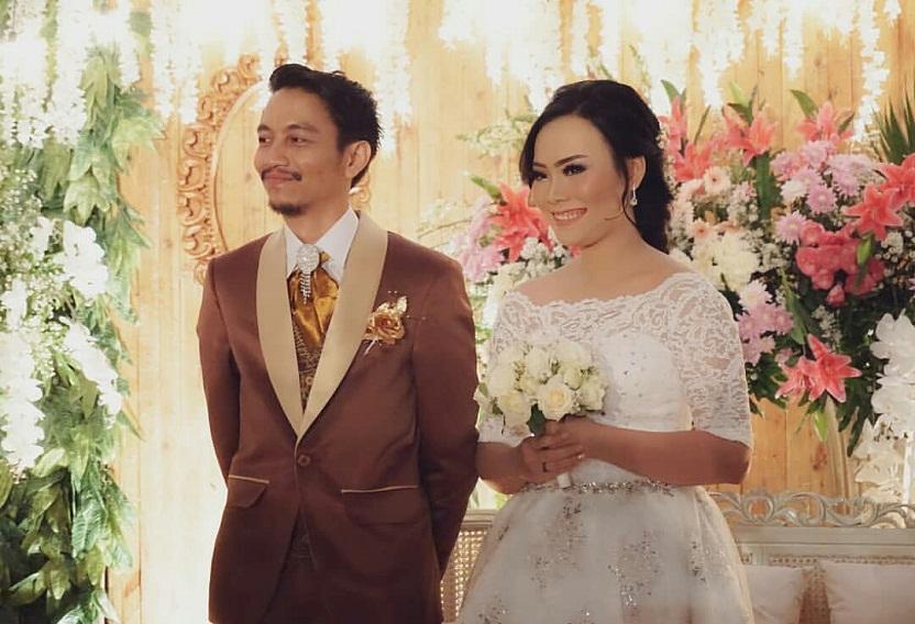 10 Momen bahagia pernikahan Fiersa Besari dan Aqia Nurfadla