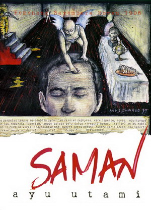 Sampul Novel Saman/Wikipedia.com