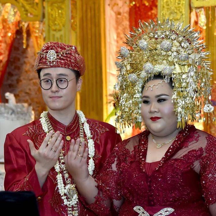 Pernikahan Park Jun dan Vera Nanda Putri