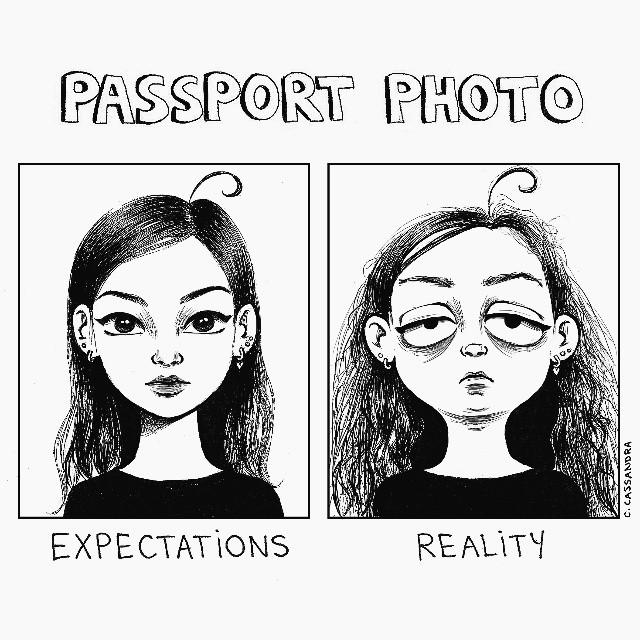 9 Ilustrasi ekspektasi vs realita cewek saat berdandan, bikin nyesek