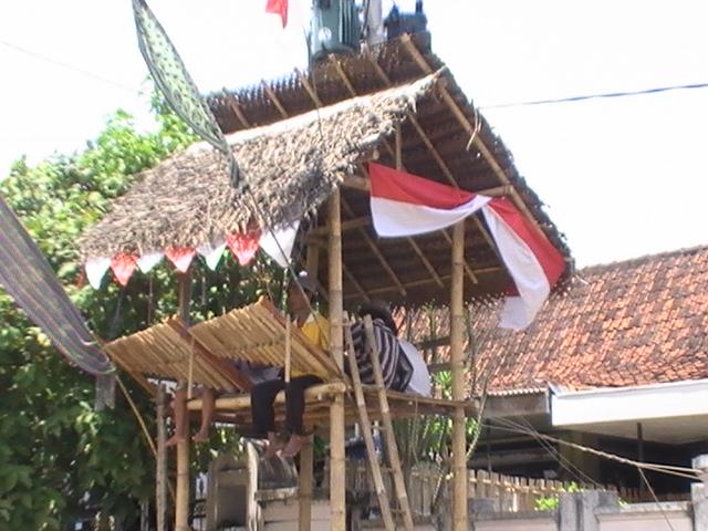 Foto Angklung Paglak Desa kemiren