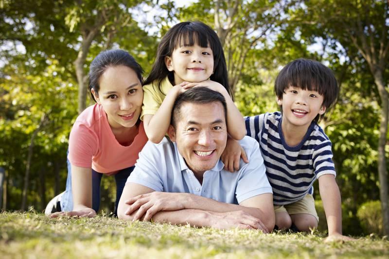 Potret Keluarga Jepang