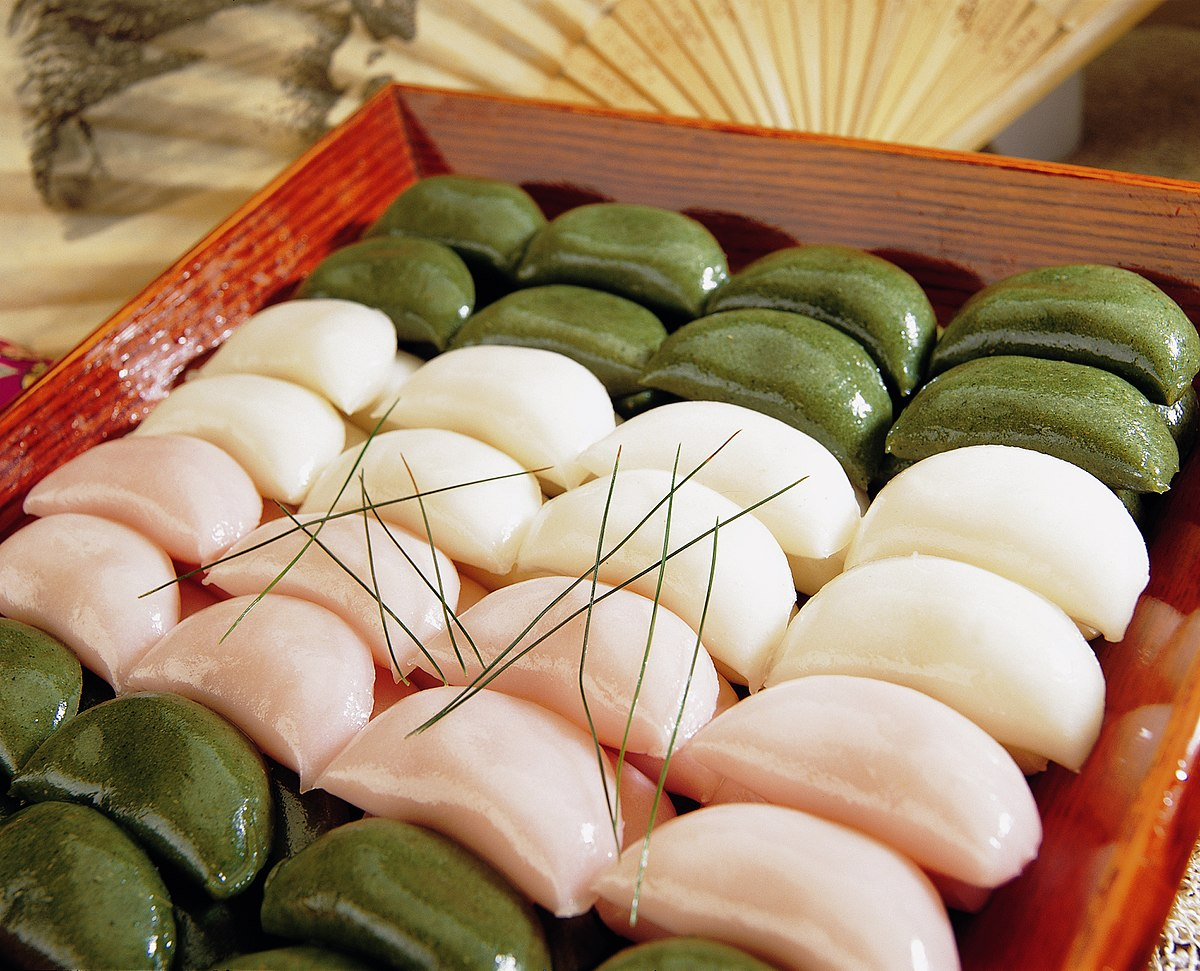 Songpyeon, kue beras khas Korea