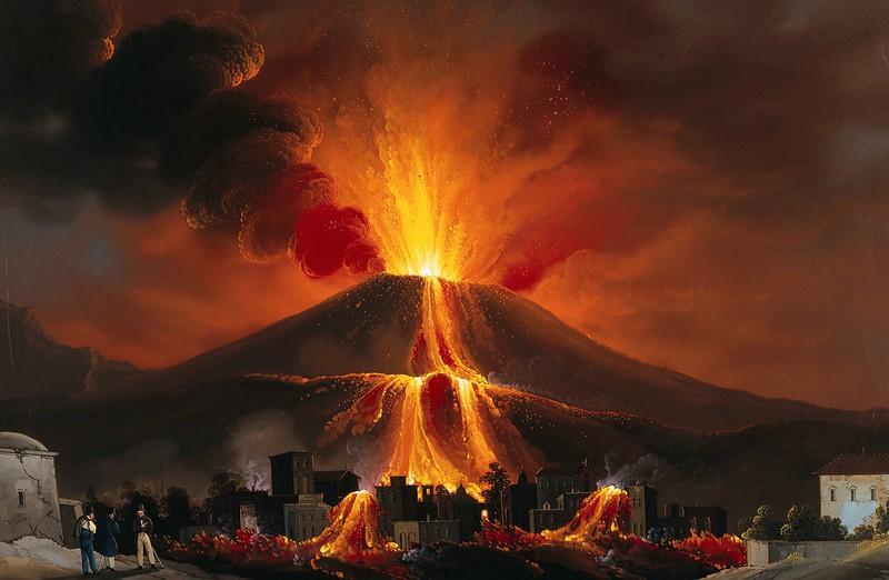Vesuvius Volkano