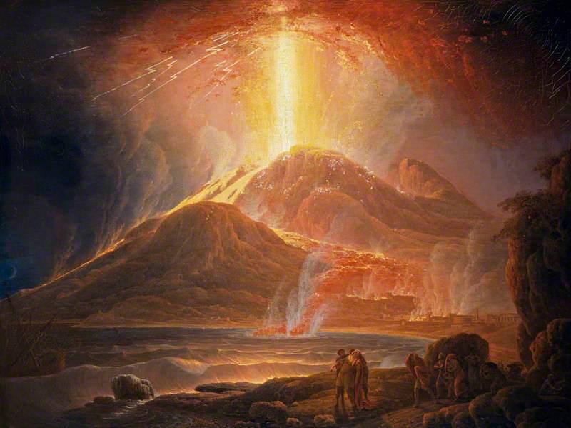 Hari Meletusnya Vesuvius Pompeii