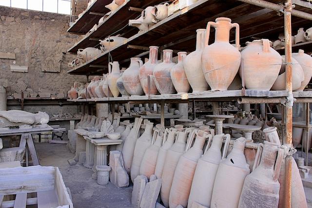 Artefak Pompeii