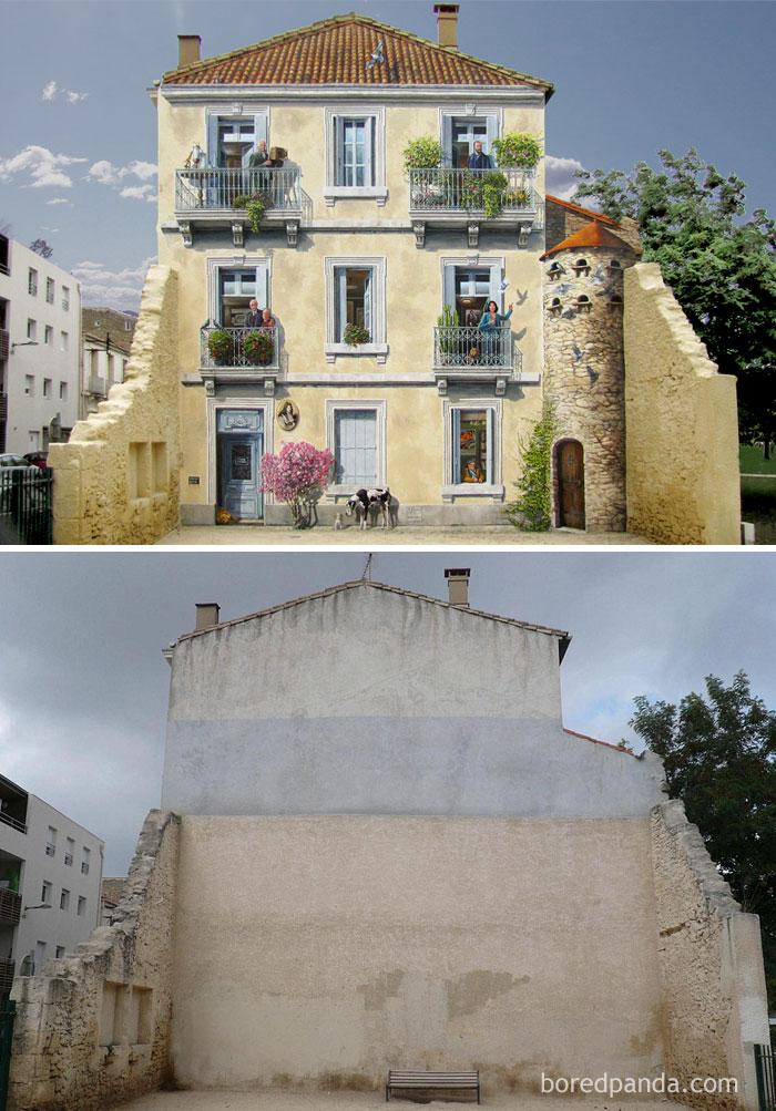 www.boredpanda.com/street-art-realistic-fake-facades-patrick-commecy/