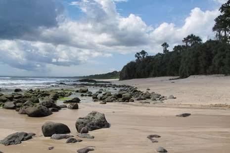 Pantai Pancur Taman Nasional Alas Purwo