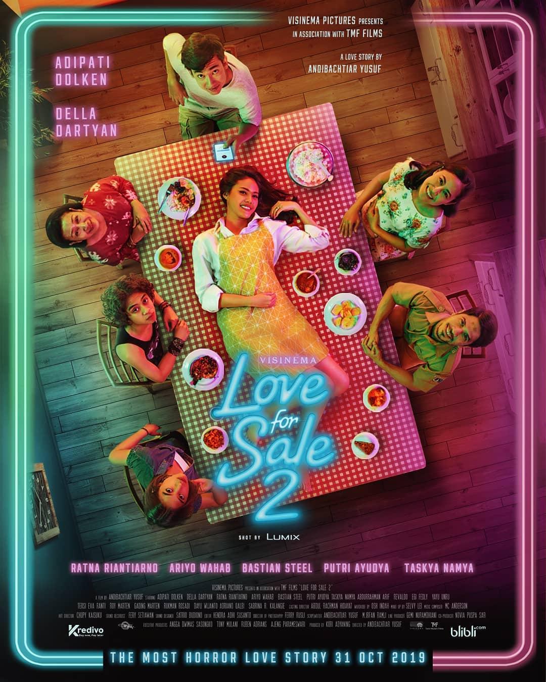 5 Fakta menarik film Love For Sale 2, siap bikin kamu baper