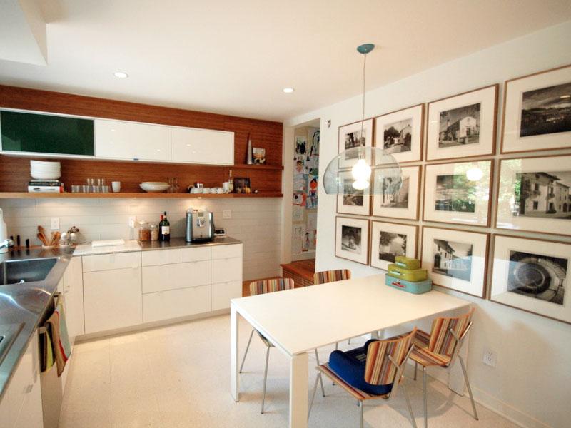 Dinding galeri dapur