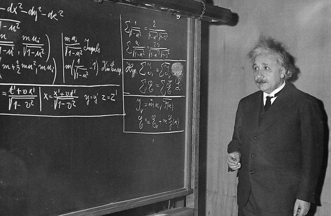 Albert Einstein dan Matematika