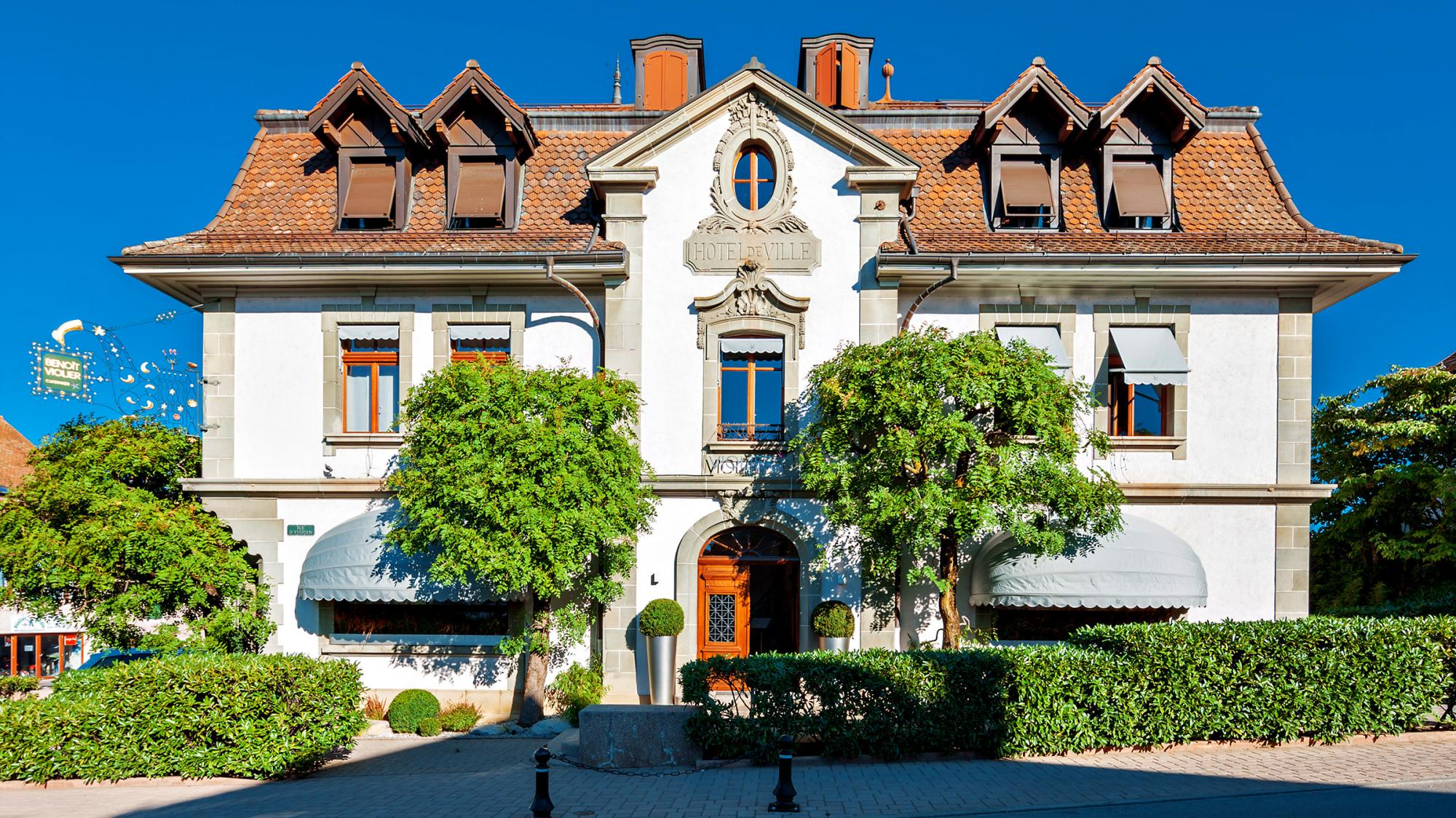 Hotel De Ville, Crissier, Swiss
