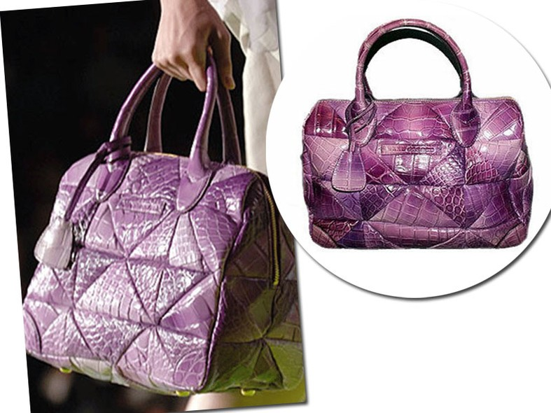 Marc Jacobs Carolyn Crocodile Handbag