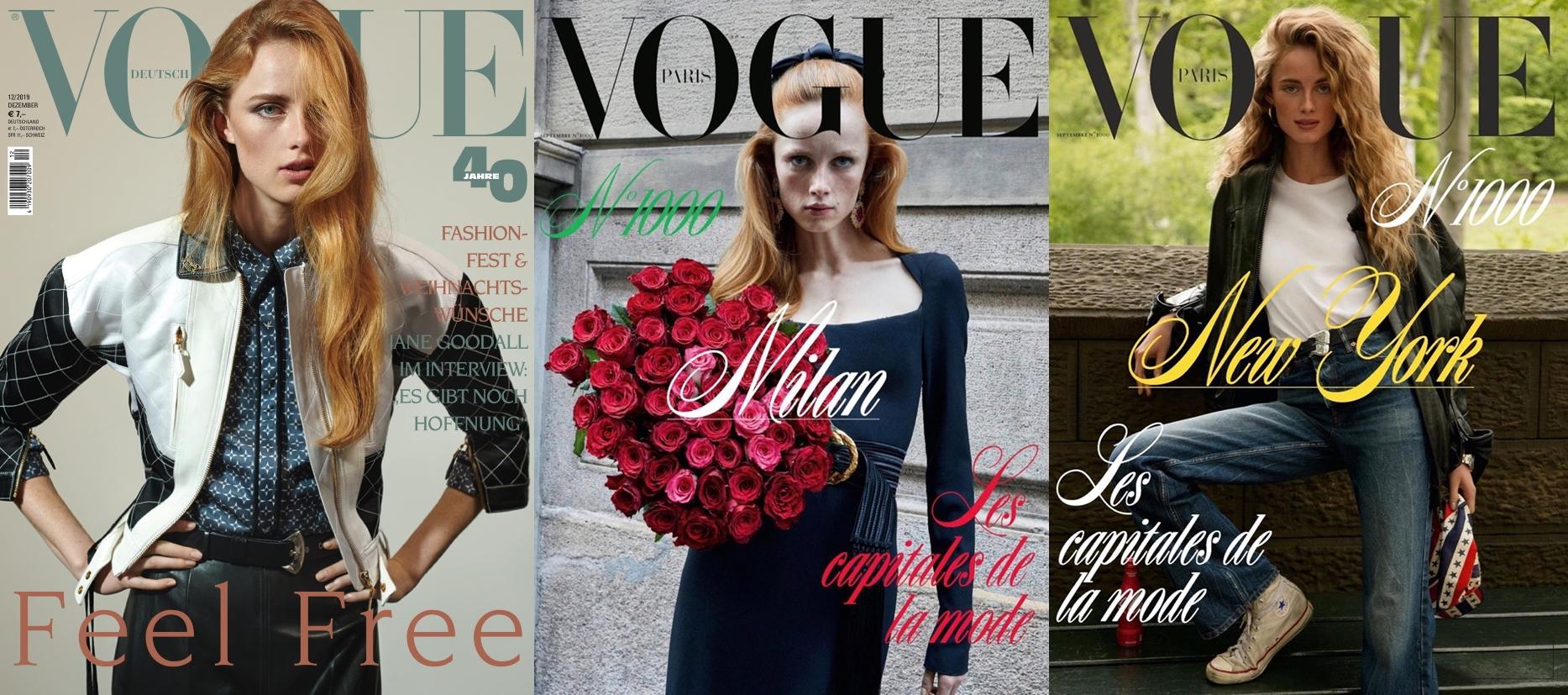10 Model ini paling banyak muncul di cover majalah Vogue 2019