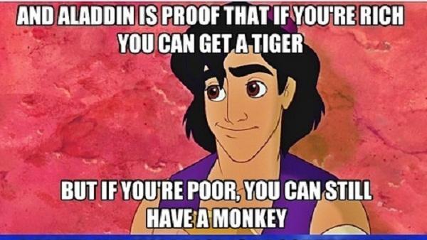Gini jadinya kalau film Aladdin dijadikan 8 meme kocak