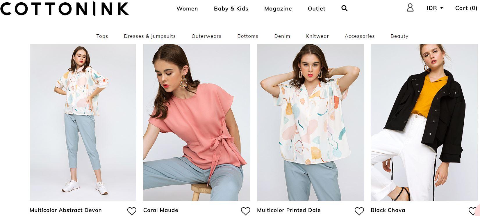 Pikir ulang beli produk fashion impor, brand lokal ini gak kalah keren