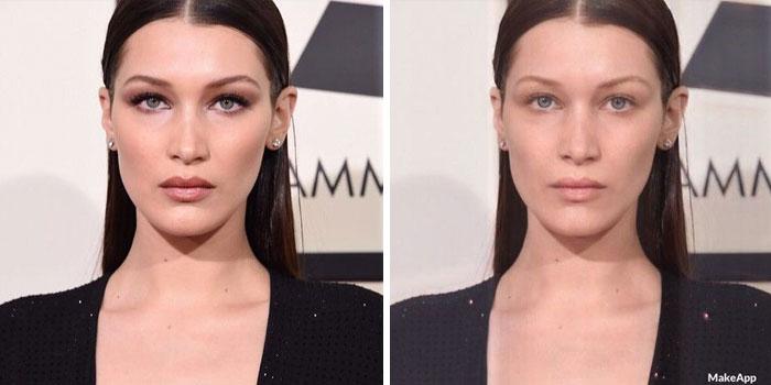Bikin kaget, ternyata beginilah wajah 10 artis tanpa makeup dengan bantuan aplikasi!