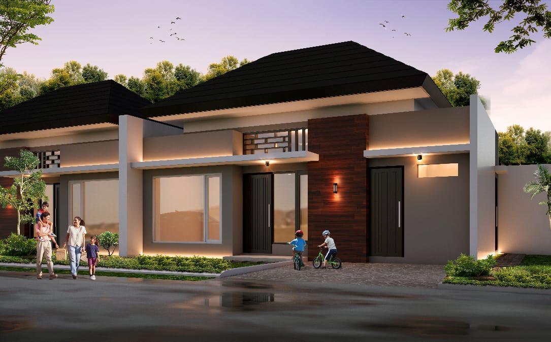 Ilustrasi Rumah & Tanah