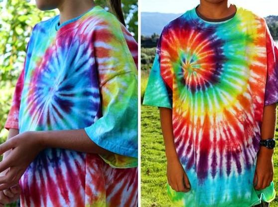 Kreasi selama karantina: Modifikasi kaus lama dengan cara tie-dye
