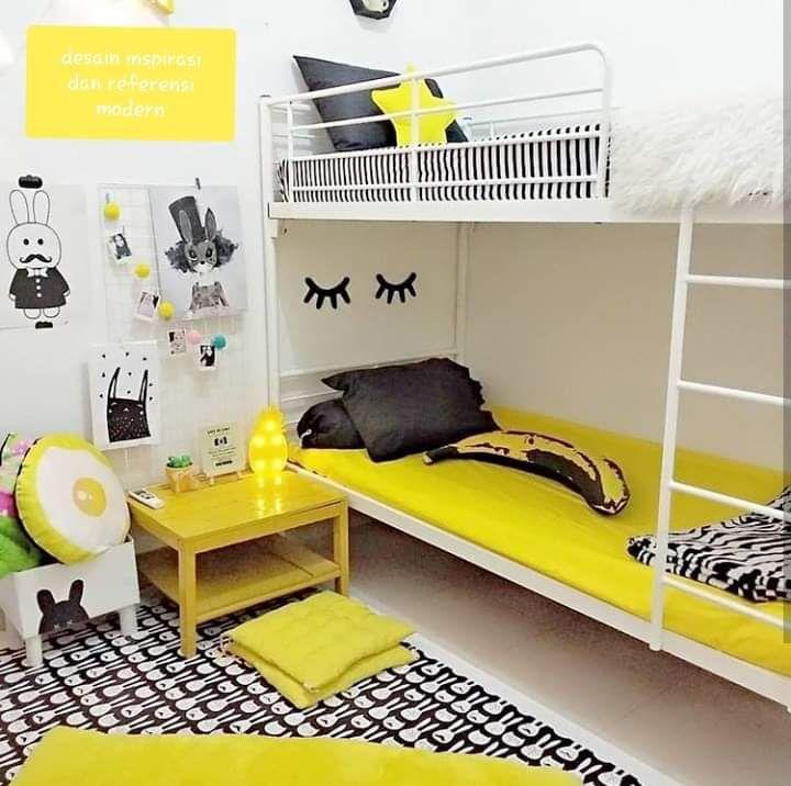 10 Desain Kamar Berwarna Kuning Ini Bikin Suasana Tampak Ceria