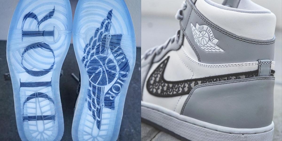 5 Juta orang antre buat sepatu kolaborasi Jordan dan Dior