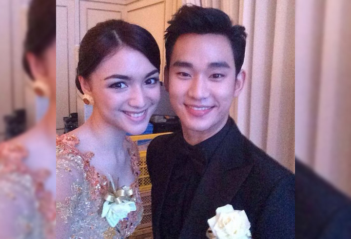 7 Momen seleb Indonesia foto bareng aktor Korea Selatan, bikin baper