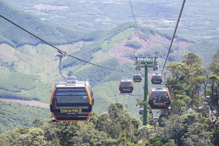 Cable car di Ba Na Hills