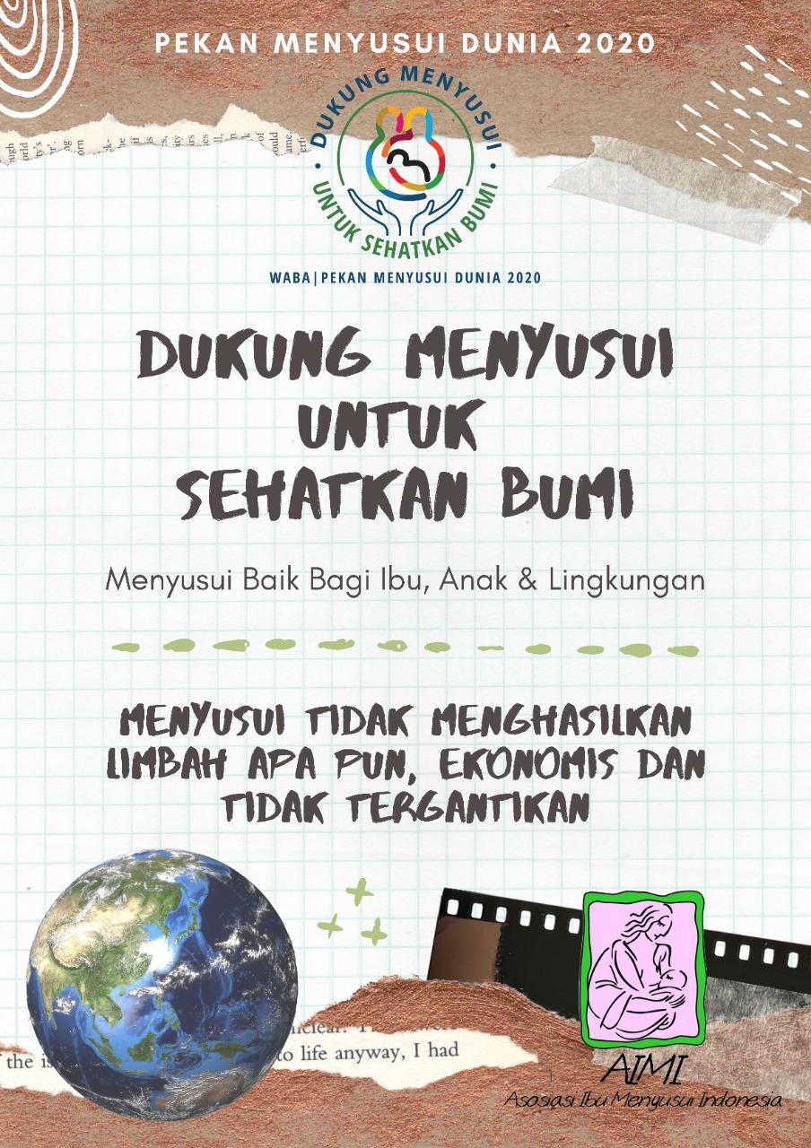 Poster Pekan Menyusui Dunia 2020 AIMI Pusat - c. 2020 AIMI