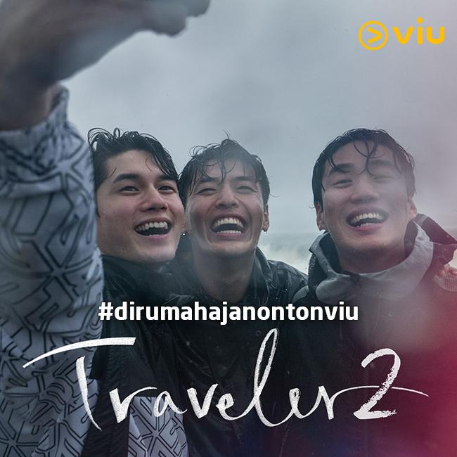 Musim kedua reality show Traveler yang pergi ke Argentina selama 2 pekan. / Gambar: Viu Indonesia.