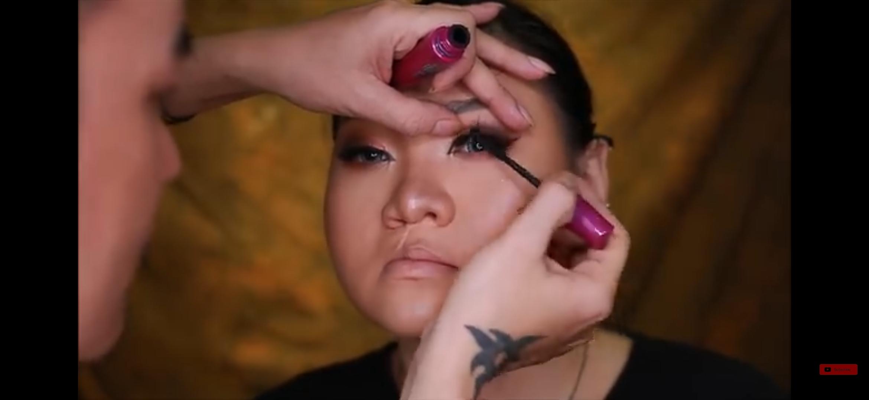 bagian mata Trang dibentuk
