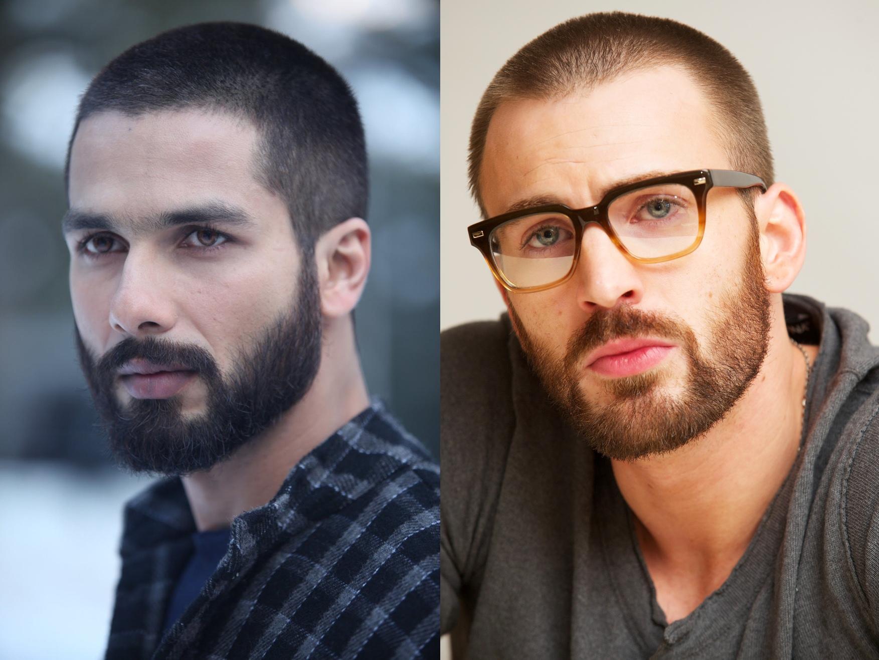 14 Model rambut short dan medium untuk para pria brewok