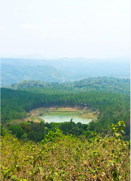 Pesona wisata alam Situ Dewa Dewi Cipiit, cocok buat penghobi camping