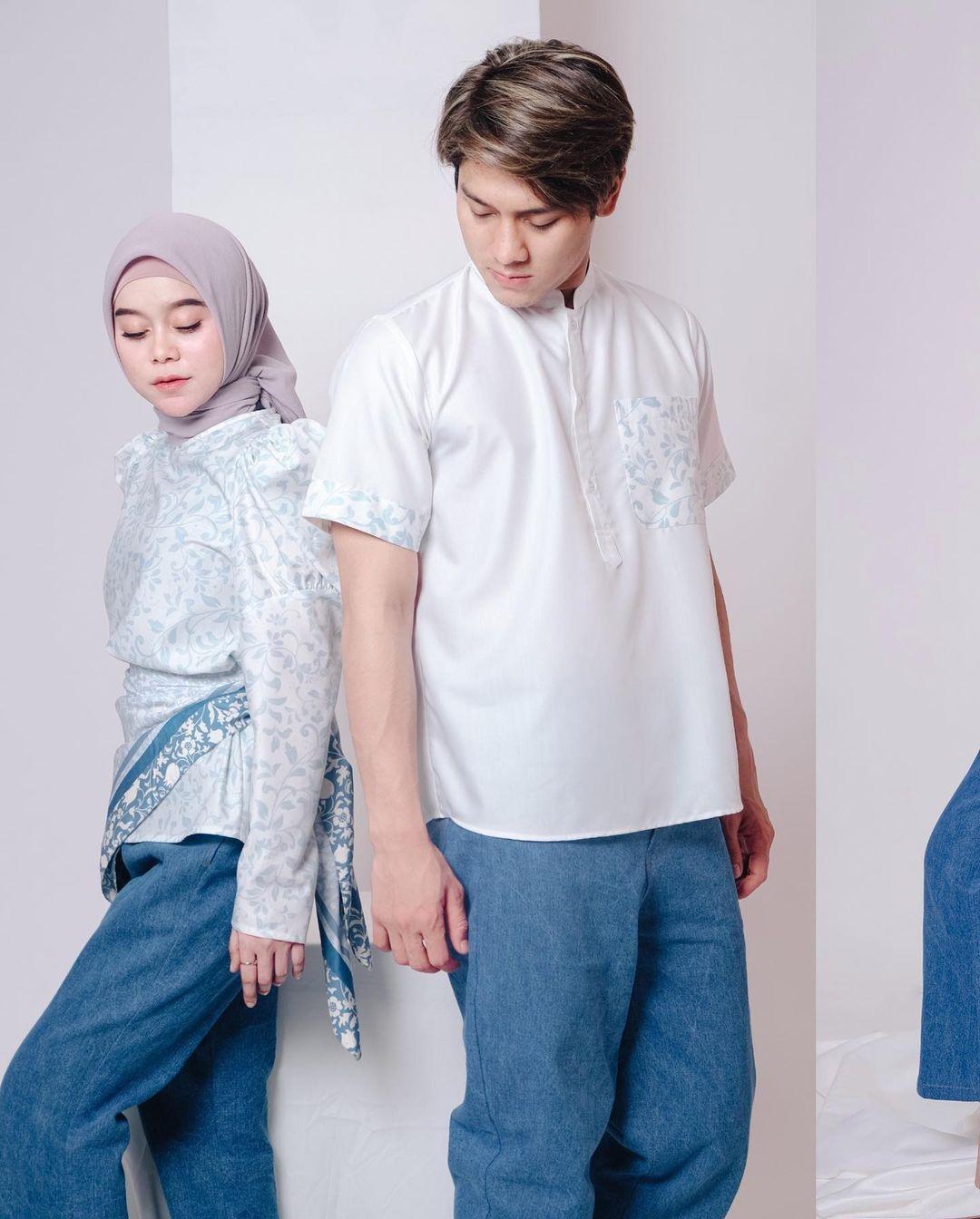 7 Outfit couple ala Lesti Kejora dan Rizky Billar, kompak dan serasi
