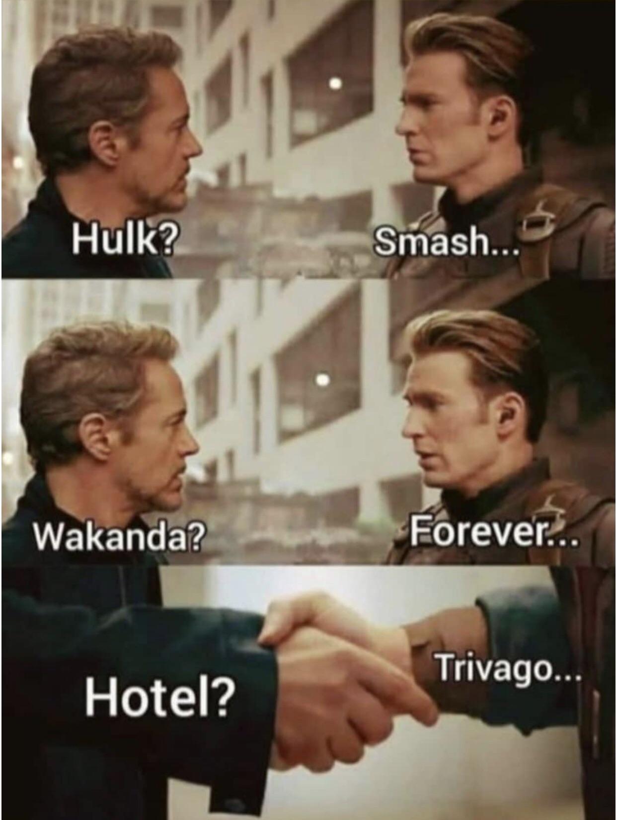 Steve dan Tony debat aplikasi hotel