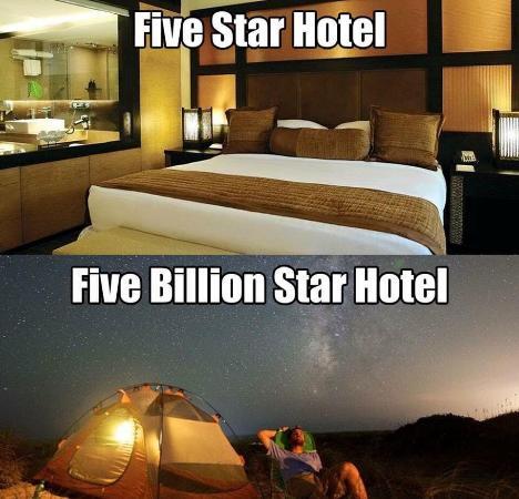 Hotel bintang lima vs hotel lima miliar