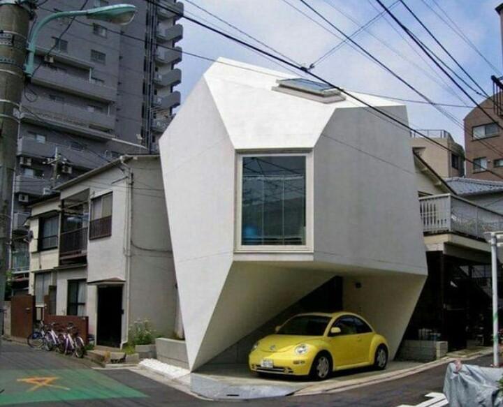 11 Potret bangunan dengan desain nyeleneh ini bikin melongo