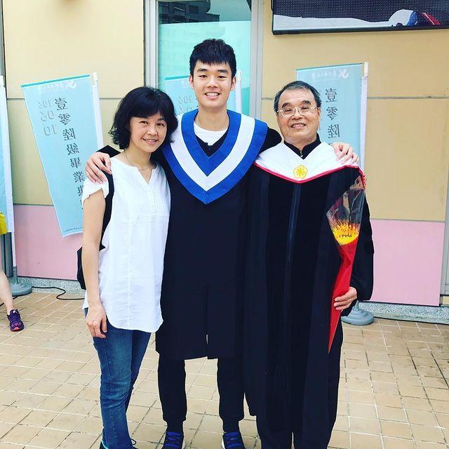 Wang Chi-lin lulus kuliah