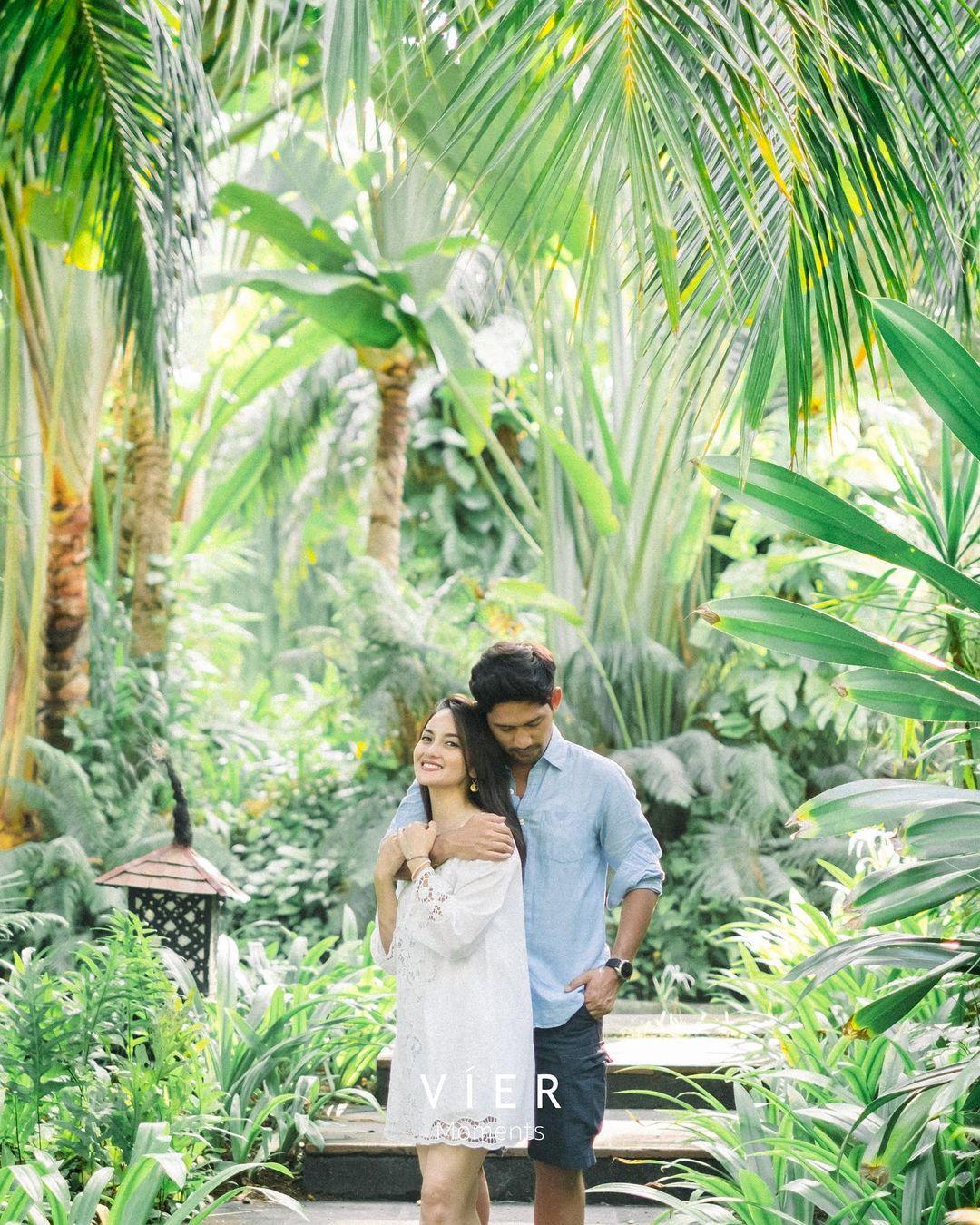 5 Potret romantis honeymoon ala Ririn Ekawati dan Ibnu Jamil di Bali