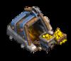 Ini perbedaan visual pada 14 level gold mine Clash of Clans