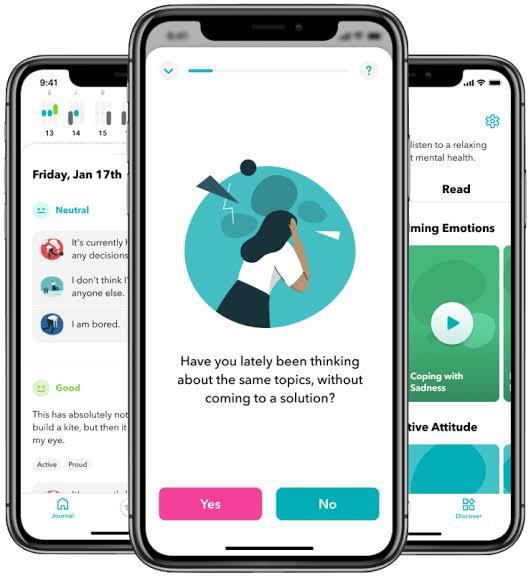 4 Aplikasi self help untuk bantu menjaga kesehatan mentalmu