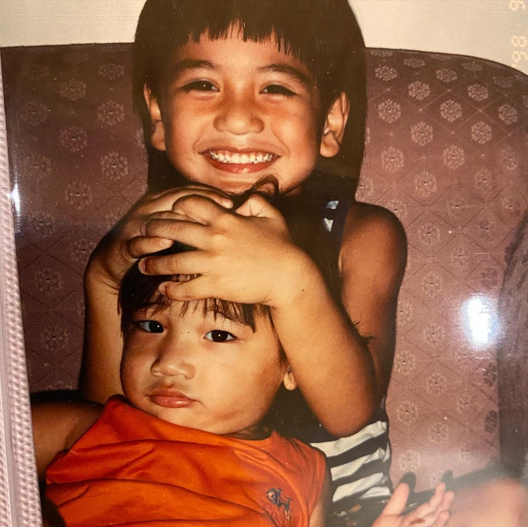 4 Potret masa kecil Giorgino Abraham dan sang adik, sibling goals