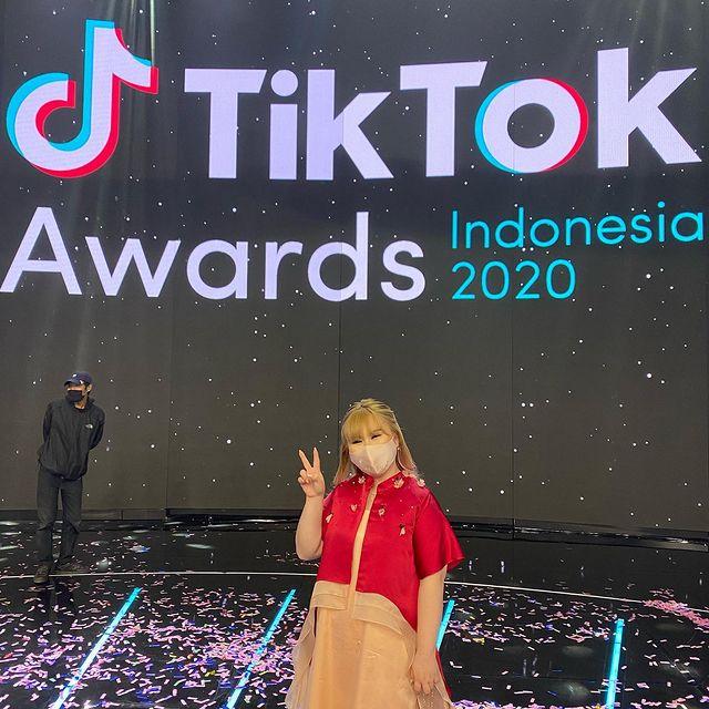 Vinny Laurencia di TikTok awards 2020